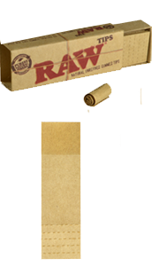 RAW Tips - Perforated & Gummed